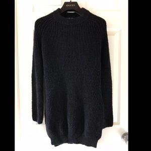 Dresses & Skirts - Zara side slit sweater dress